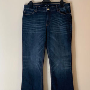White House Black Market Slim Boot Jean Size 14S